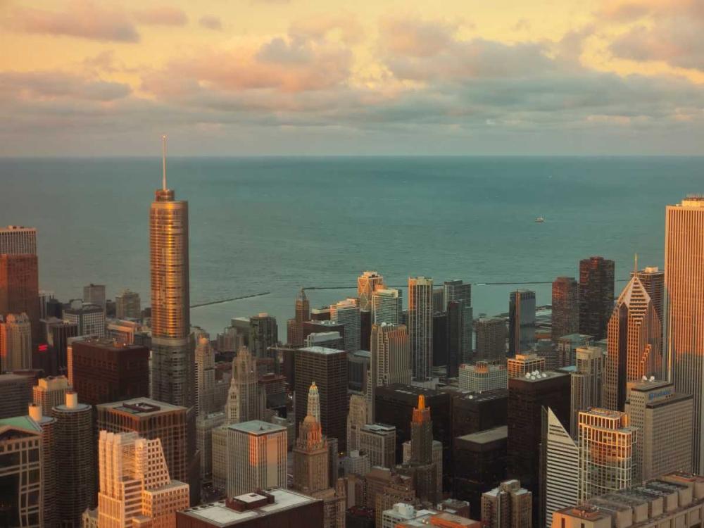 Sunset in Chicago Levant, Jessica 66069