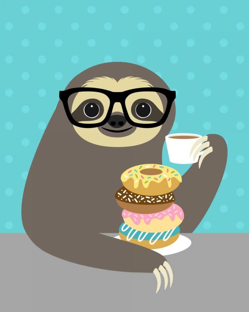 Snacking Sloth Lee, Nancy 107268