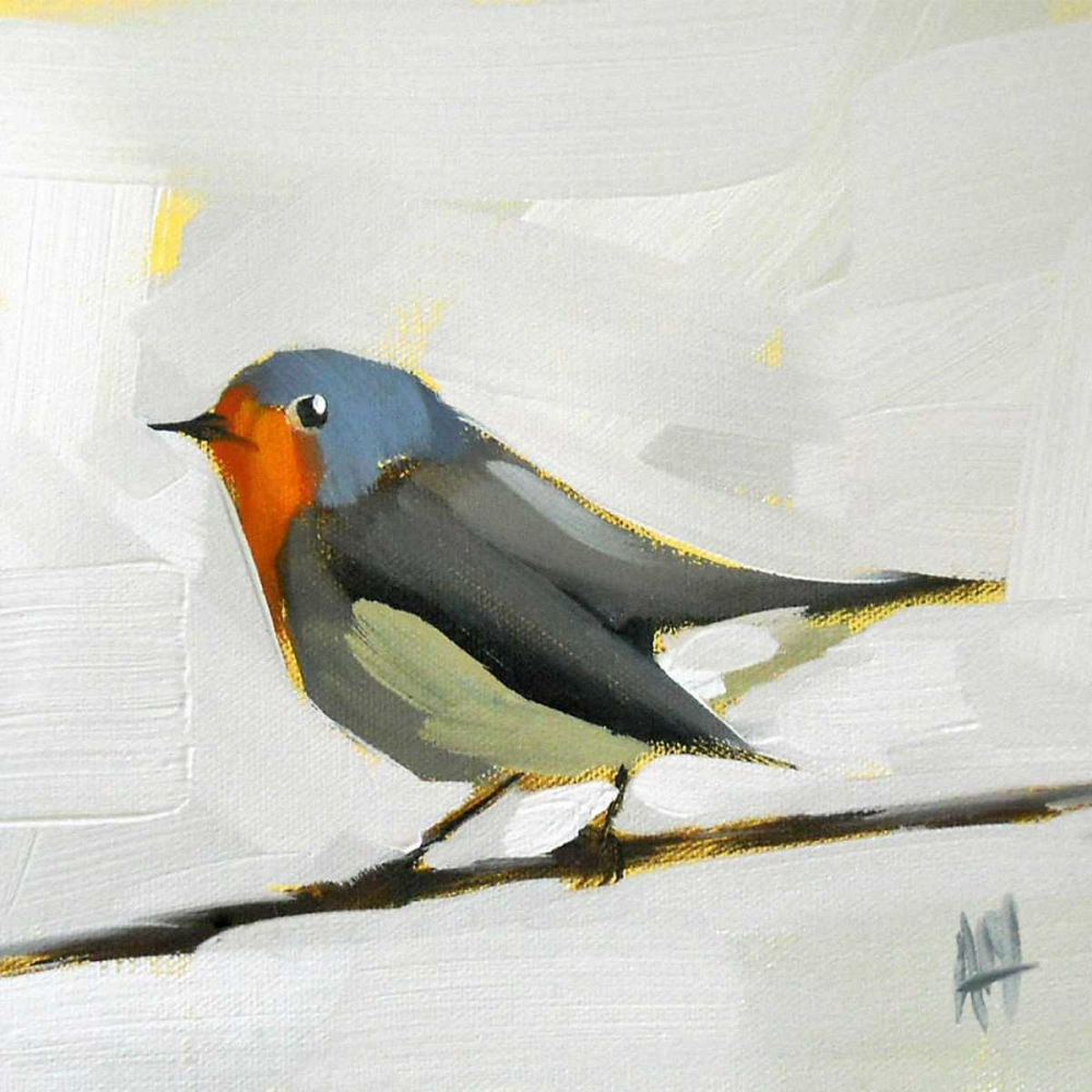 Robin on Wire Moulton, Angela 33110