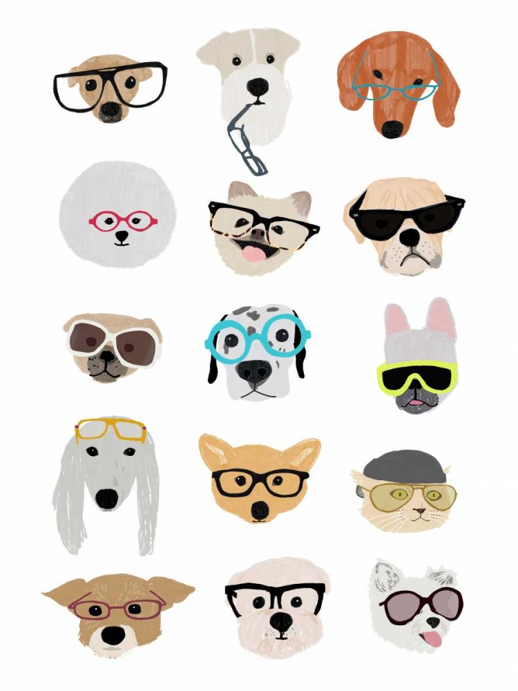 Dogs with Glasses Melin, Hanna 65503