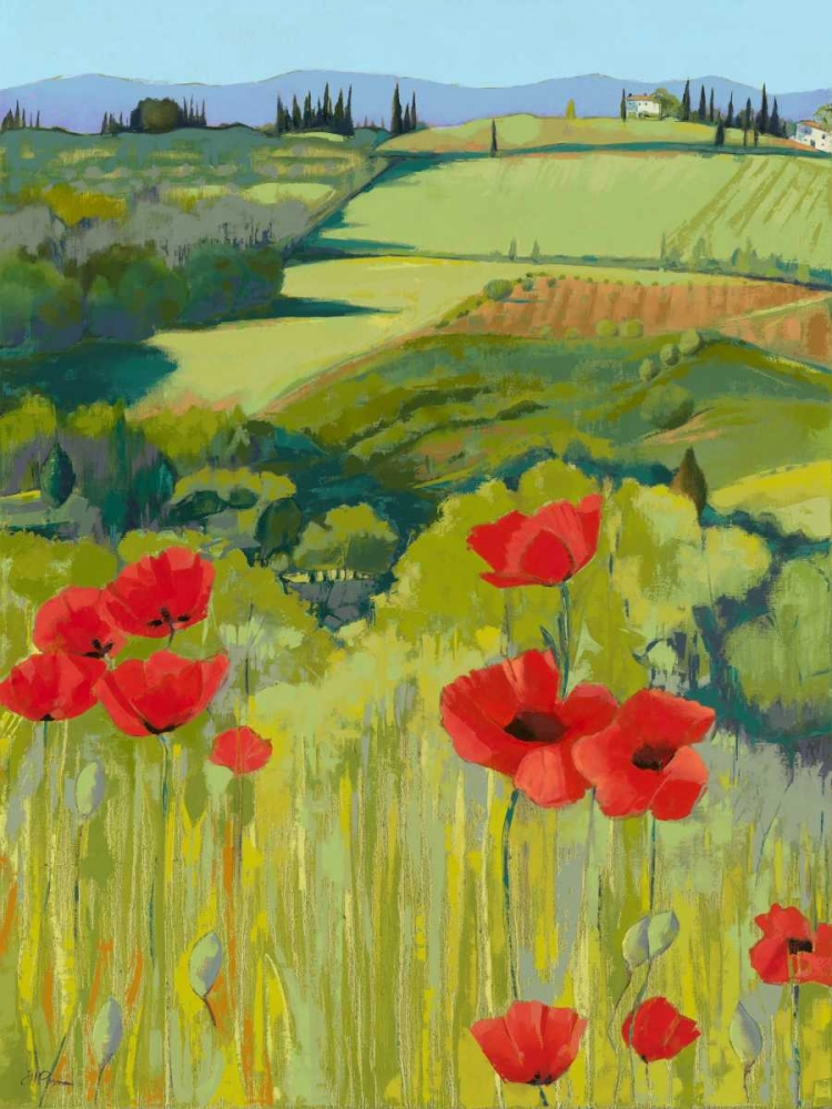 Field of Poppies Parsons, Jane Henry 107315