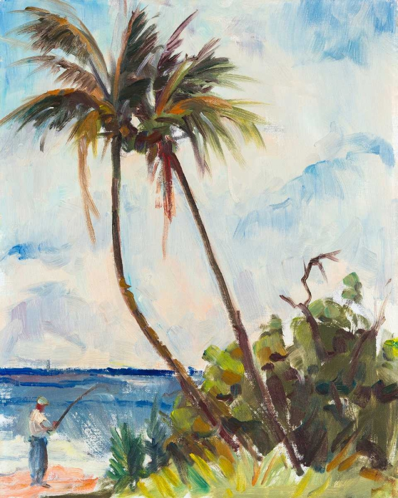 Fishing under Palms Rodgers, Richard A. 149756