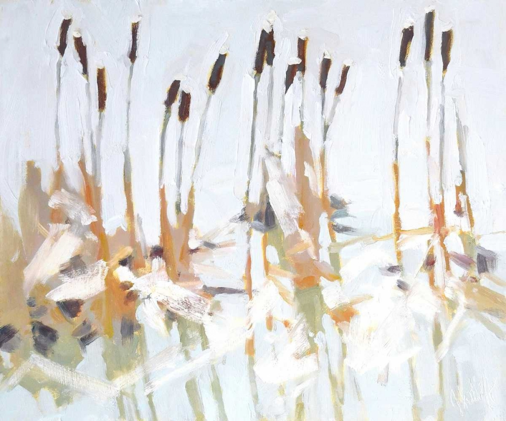 Cattails and Ice Sutliff, Julia 88404