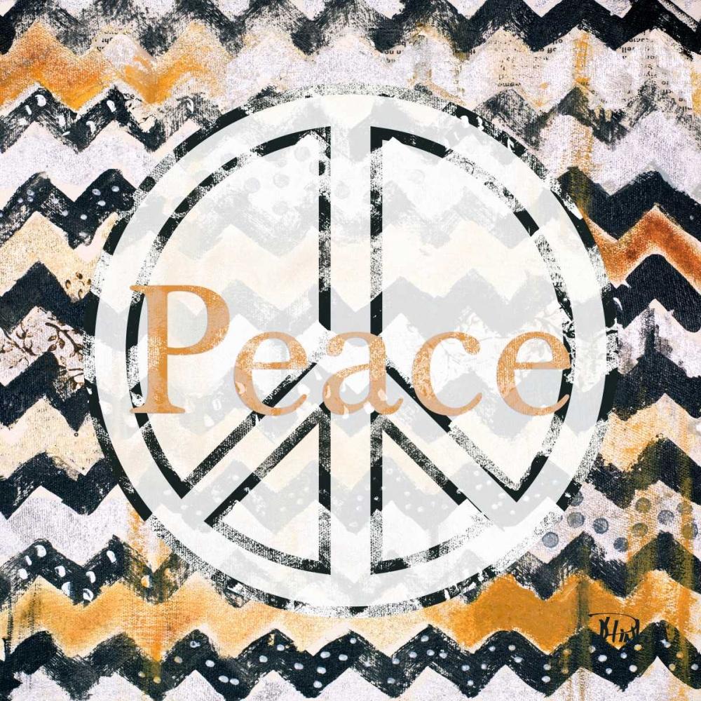 Love and Peace Square II Pinto, Patricia 122133