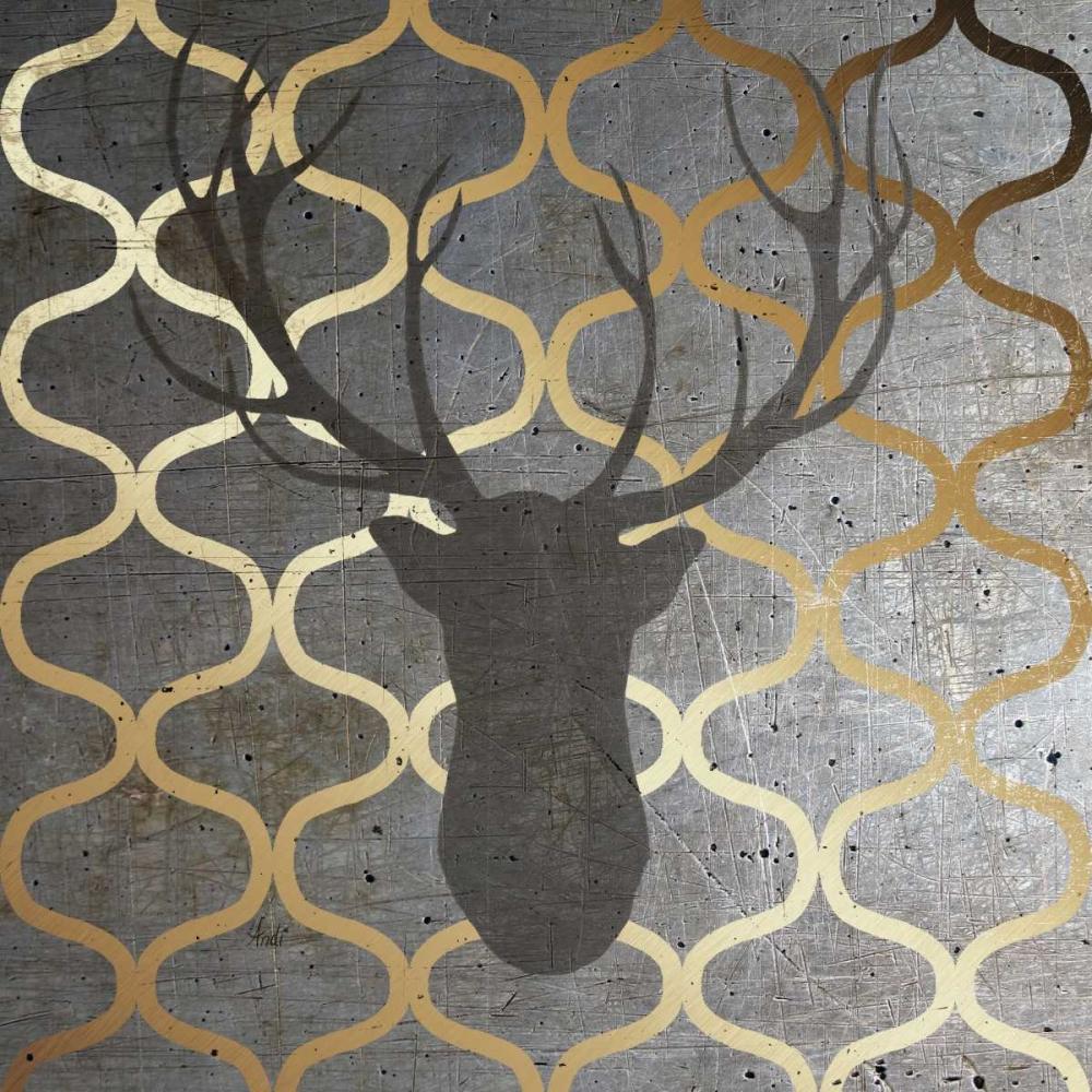 Metallic Deer Nature Metz, Andi 122390