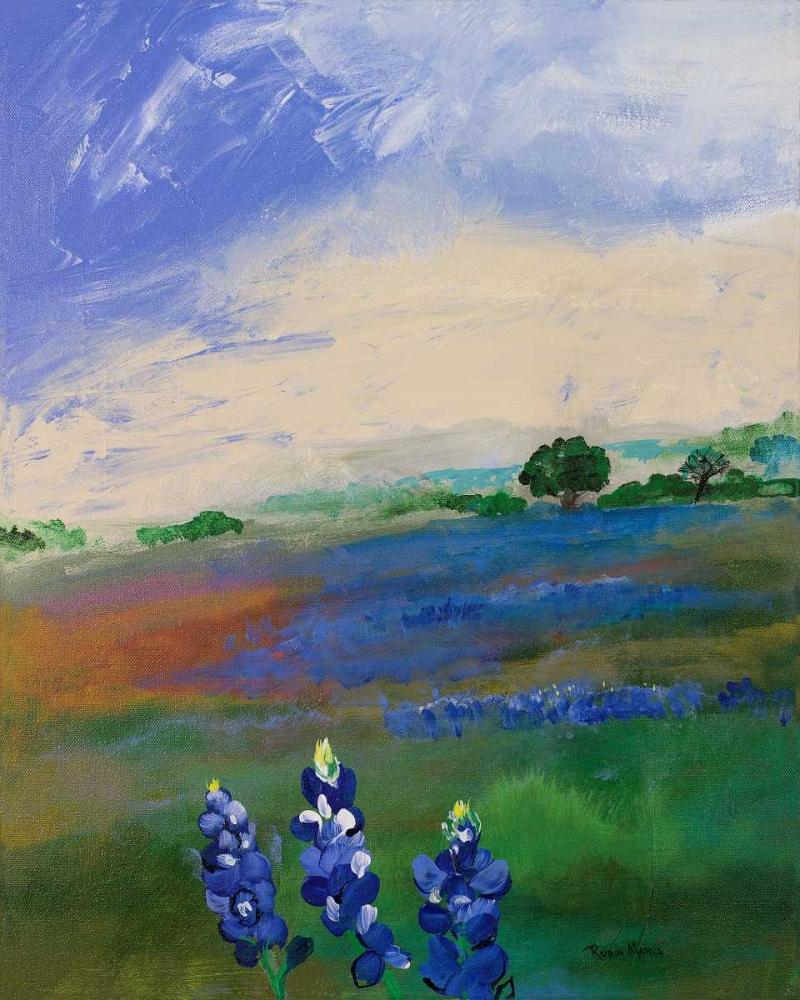Texas Blue Bonnets Maria, Robin 47613