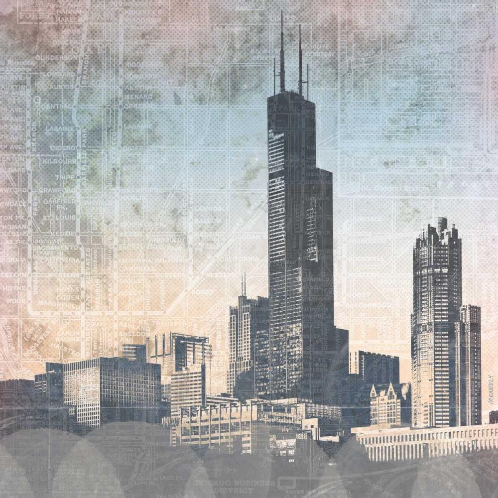 Chicago Skyline I Meneely, Dan 122963