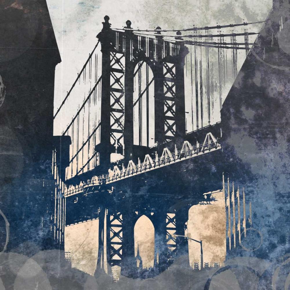 NY Bridge at Dusk II Meneely, Dan 122966