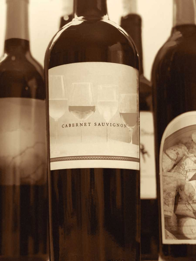 Wine Bottles II Peck, Gail 74356