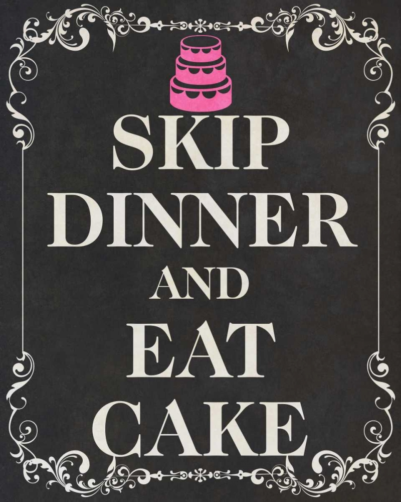 Eat Cake Pink II SD Graphics Studio 123165