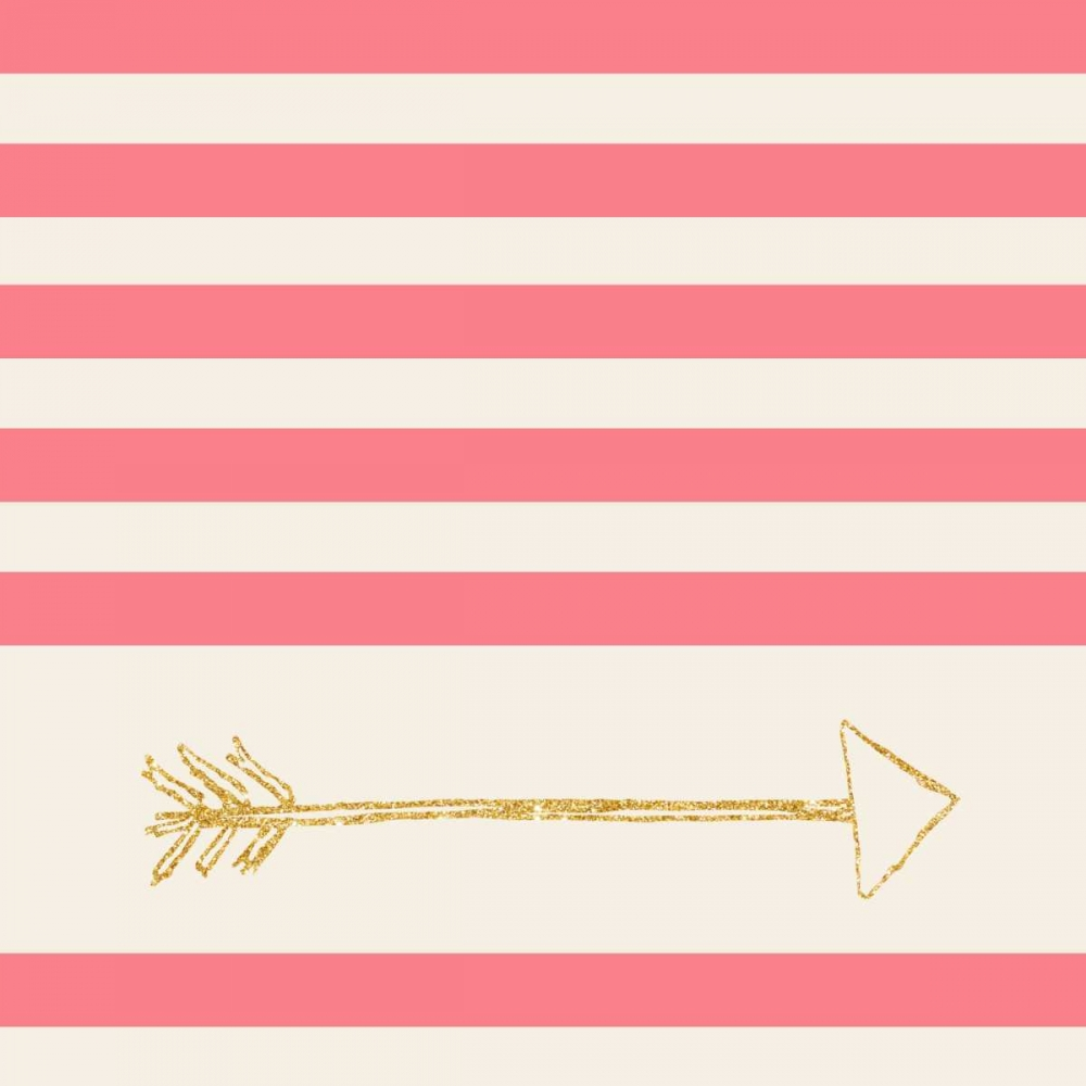 Pink and Gold Faded Arrow SD Graphics Studio 123263