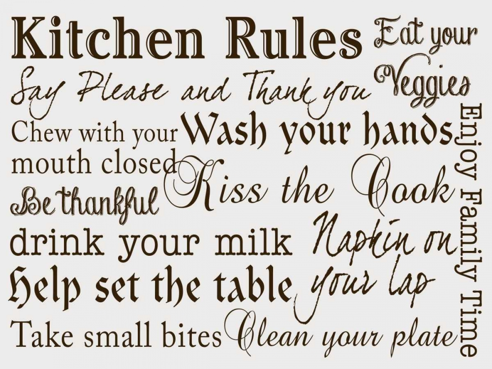 Kitchen Rules III Studio, Sd Graphics 159138