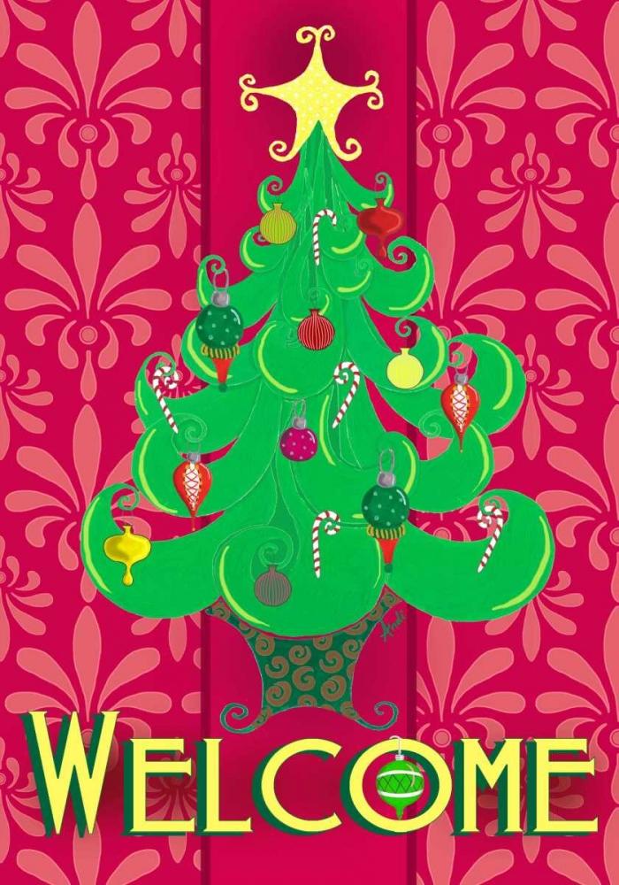 Christmas Tree Welcome Metz, Andi 123368