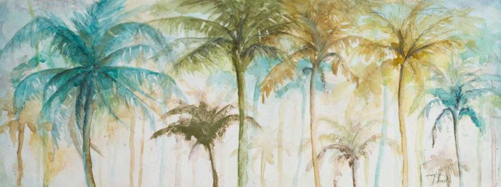 Watercolor Palms Pinto, Patricia 159353