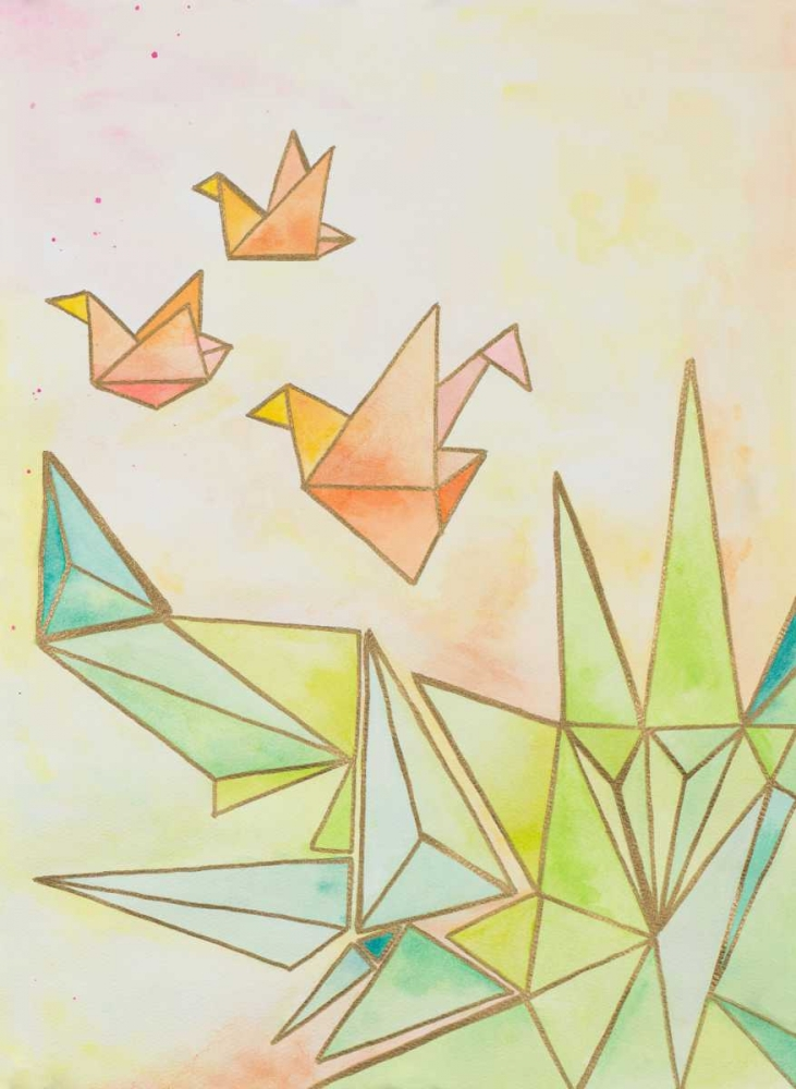 Origami Cranes James, Nola 159731