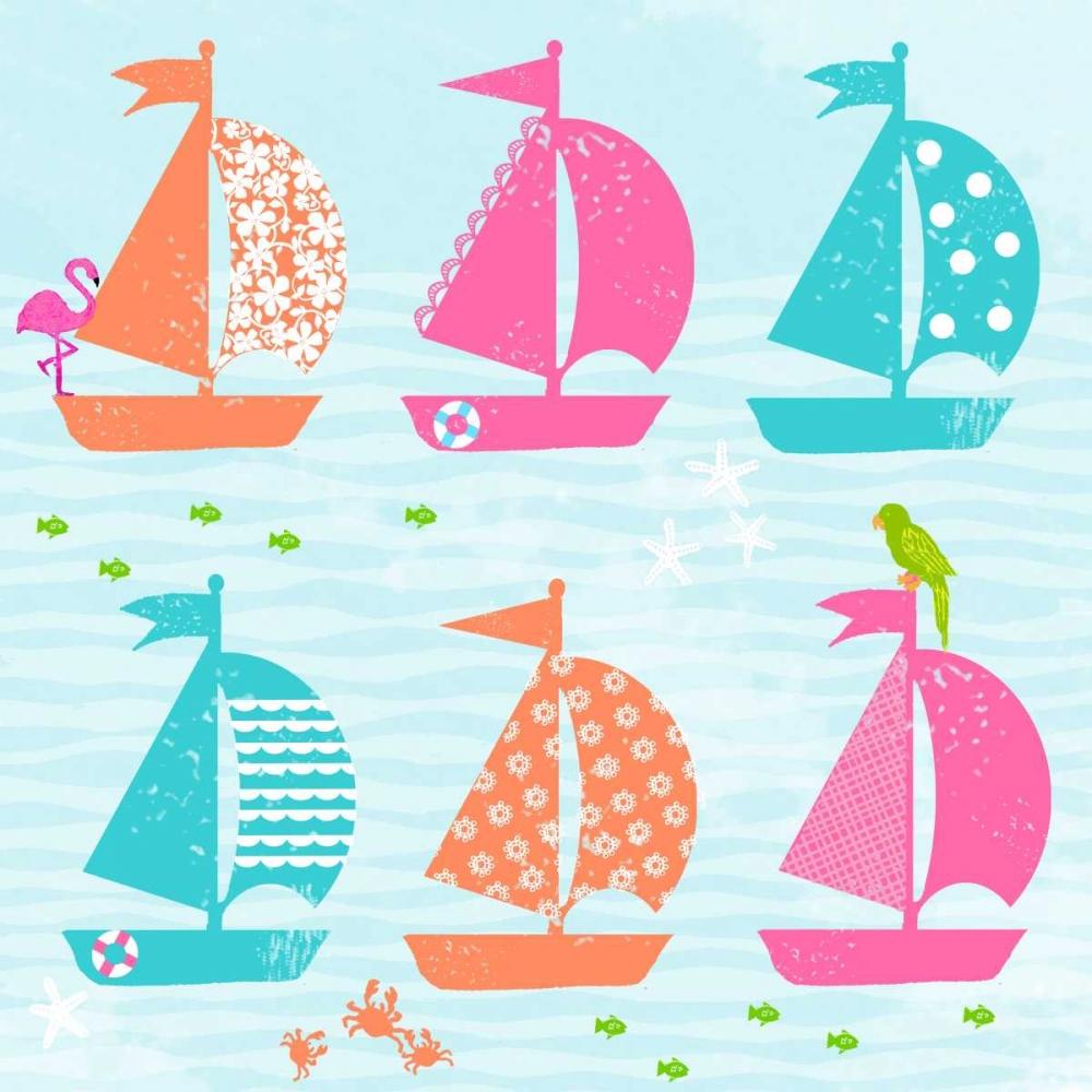 Cabanas and Sailboats II A Fresh Bunch 123809