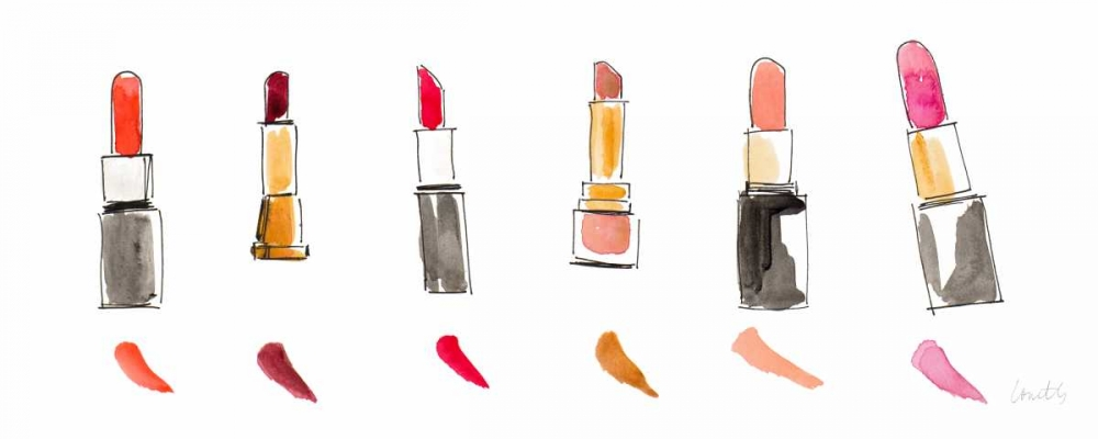Water Color Make Up Panel I Loreth, Lanie 123874