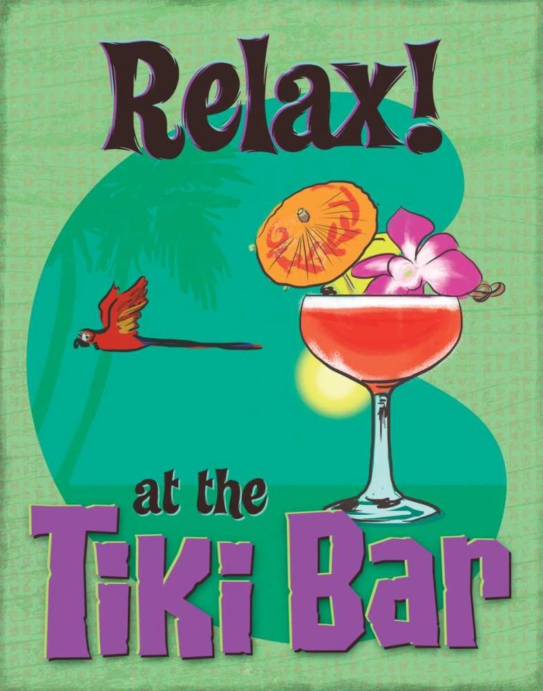 Tiki Bar Relax A Fresh Bunch 159766
