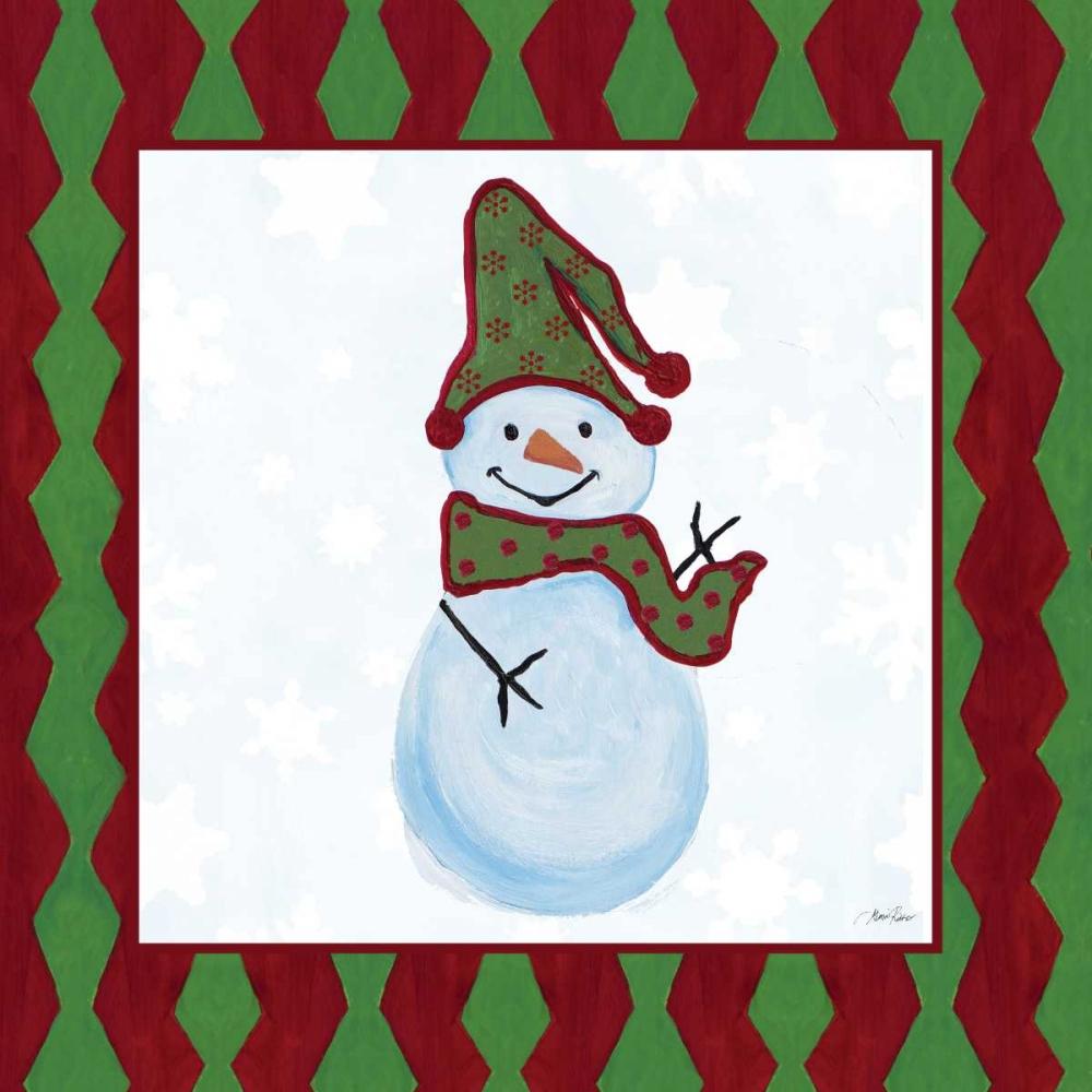Snowman Zig Zag Square II Ritter, Gina 123986