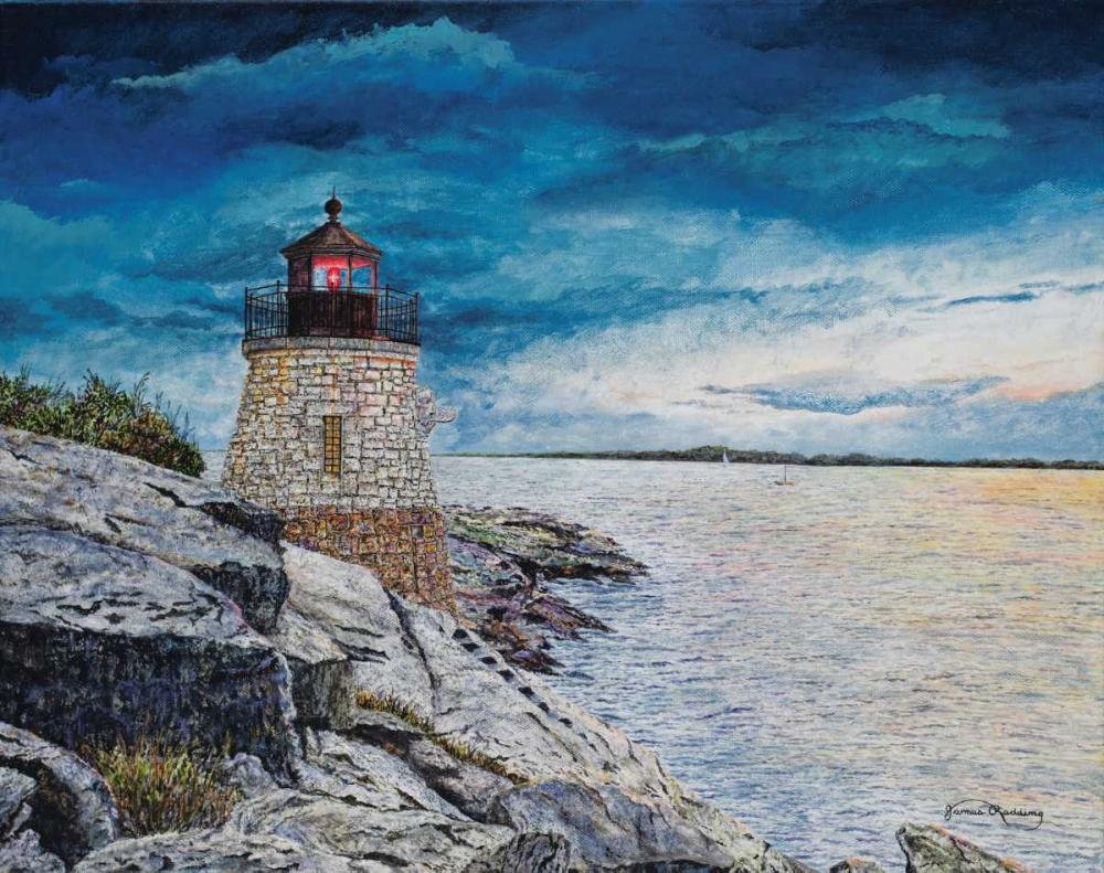 Castle Bay Light Redding, James 160001