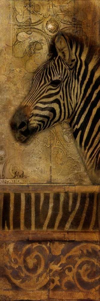 Elegant Safari Panel I-ZEBRA Pinto, Patricia 51799