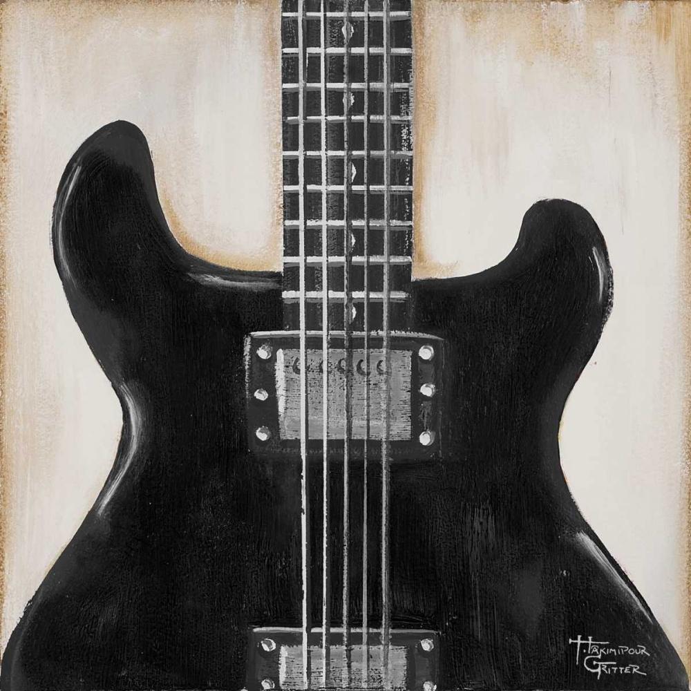 Black Guitar Hakimipour-Ritter 47343
