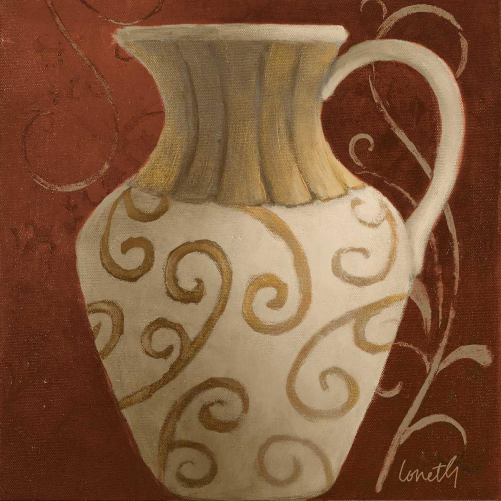 Vessel on Red II Loreth, Lanie 27884