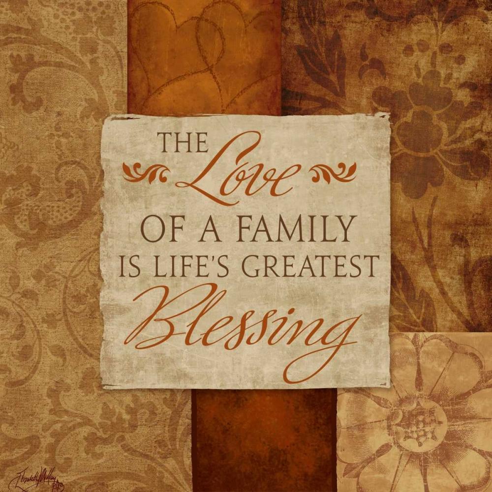 Love of a Family Medley, Elizabeth 51136