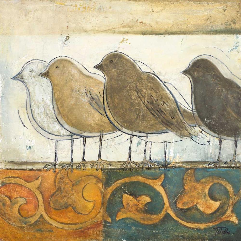 Birds on Damask I Pinto, Patricia 51839