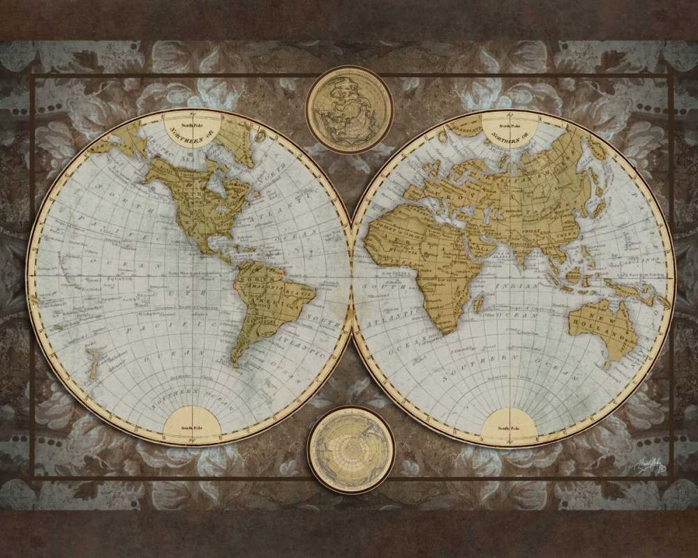 World Map Medley, Elizabeth 51890