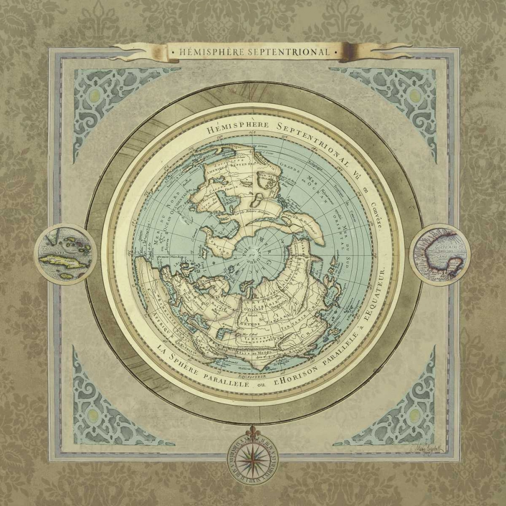 North and South Maps I Medley, Elizabeth 47352