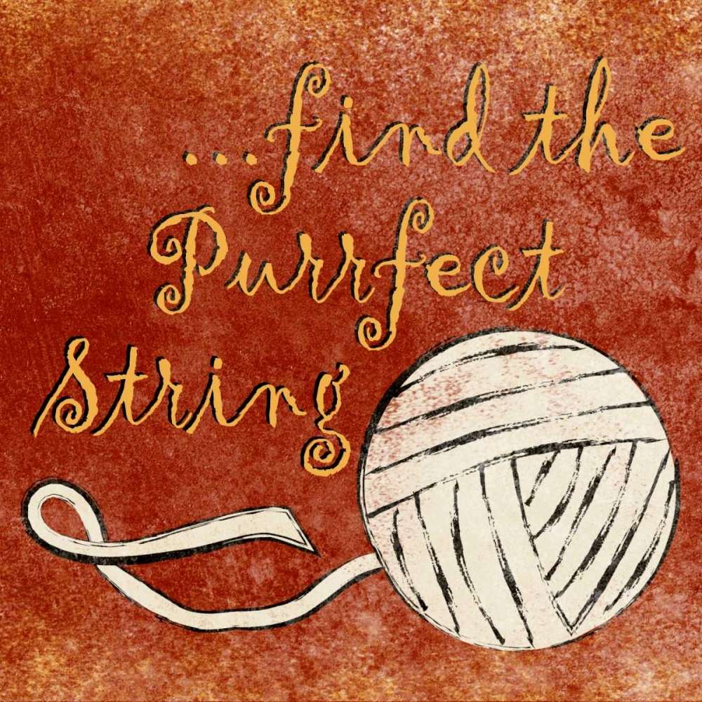 Find the Purrfect String Studio, Sd Graphics 24015