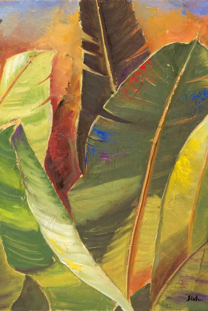 Through the Leaves Square Panel II Pinto, Patricia 24145