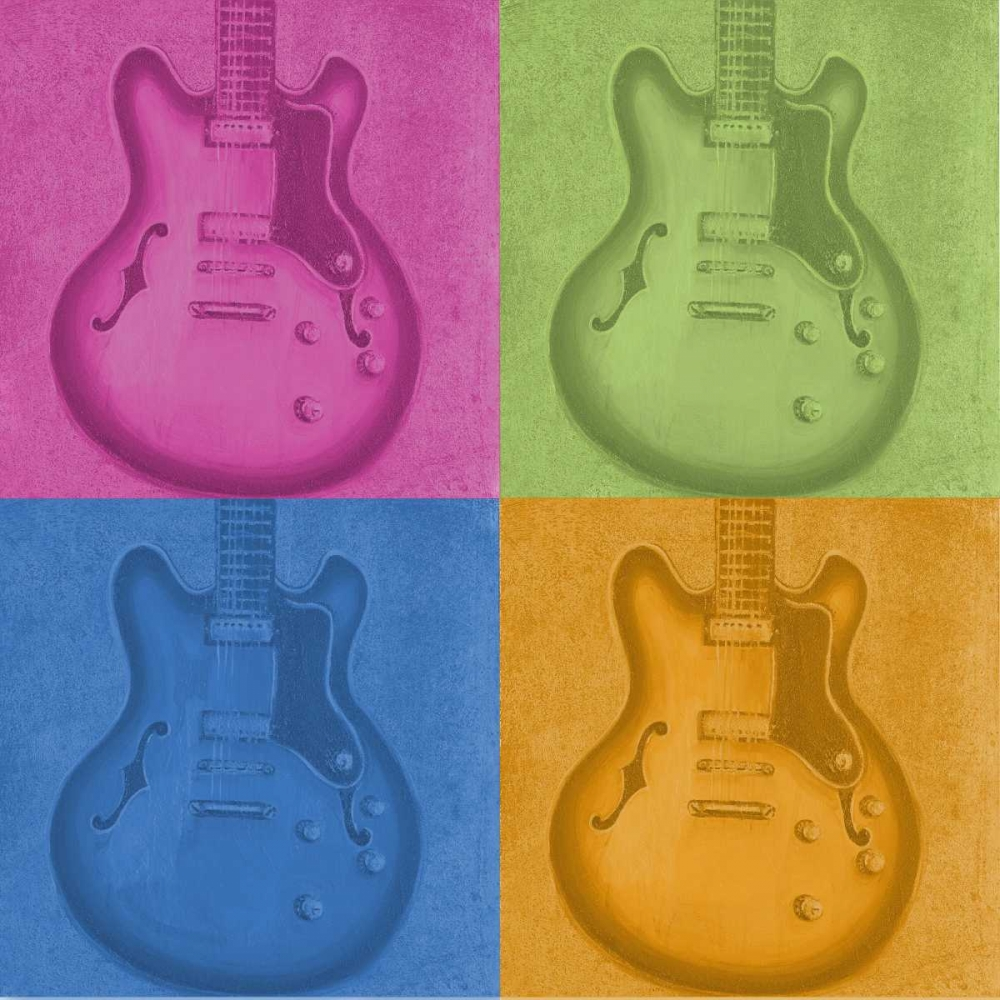 Colorful Guitar Pack Hakimipour, Tiffany 47445