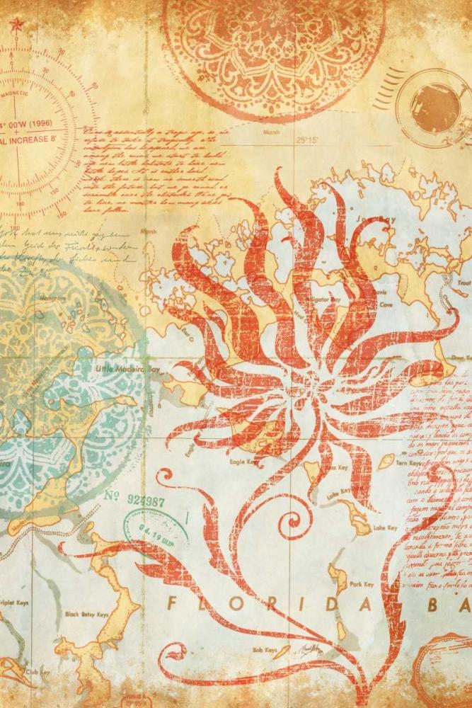 Map Wallflower II Medley, Elizabeth 24297