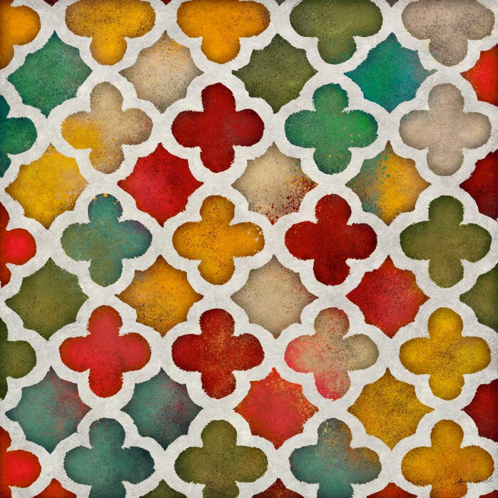 Color Burst Lattice I Loreth, Lanie 32461
