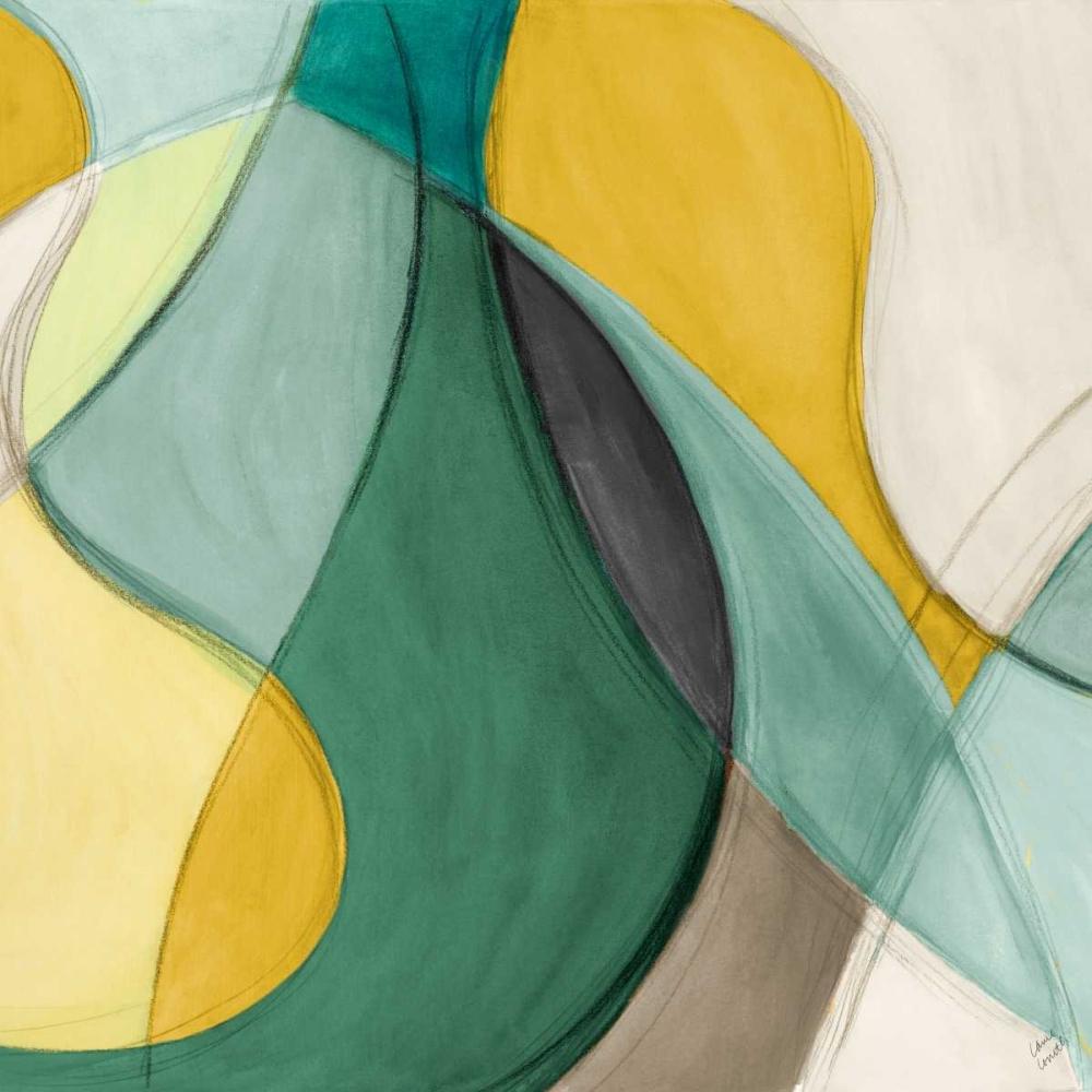 Curving Color Square II Loreth, Lanie 77969