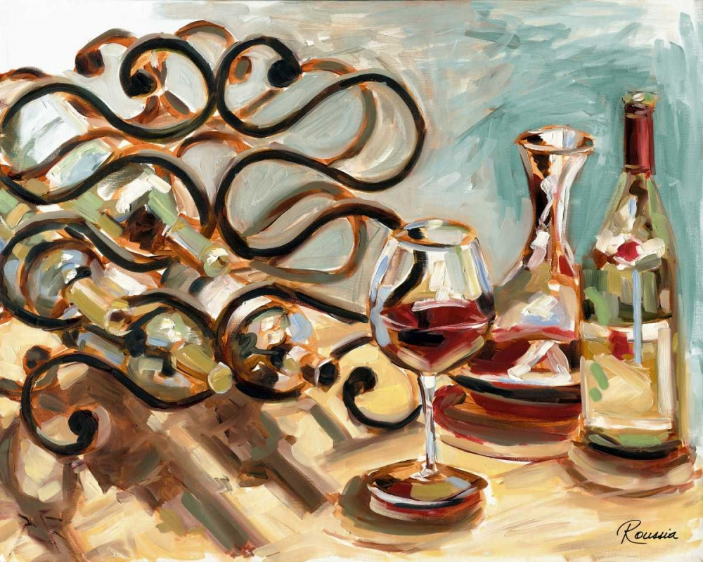 Decanter and Wine French-Roussia, Heather A. 124194