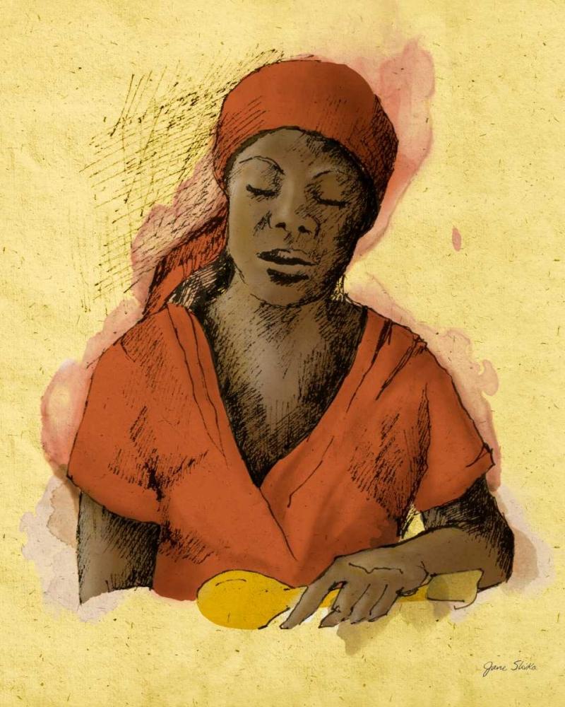 Sketched Woman in Color I Slivka, Jane 124223