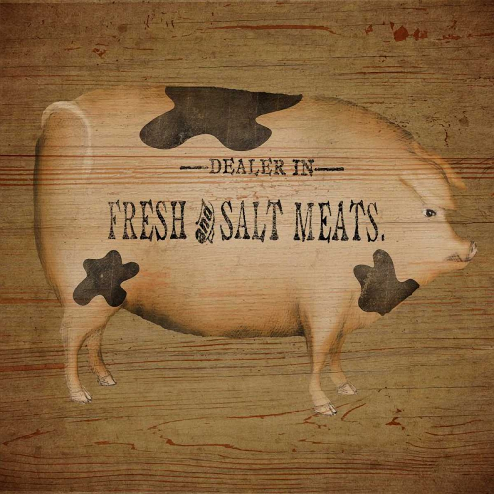 Pig Sign Albert, Beth 37106
