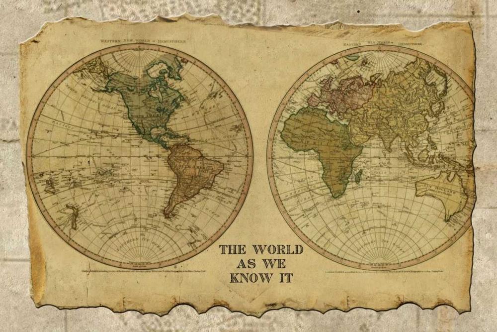 Antique Map I Albert, Beth 37110