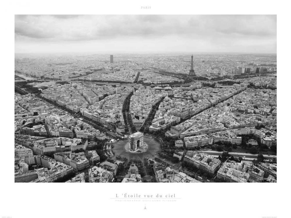 Paris - LEtoile Vue du Ciel Plisson Guillaume 16965