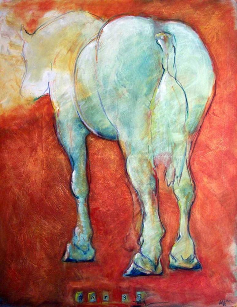 Horse Red Hoffman, Kate 17026