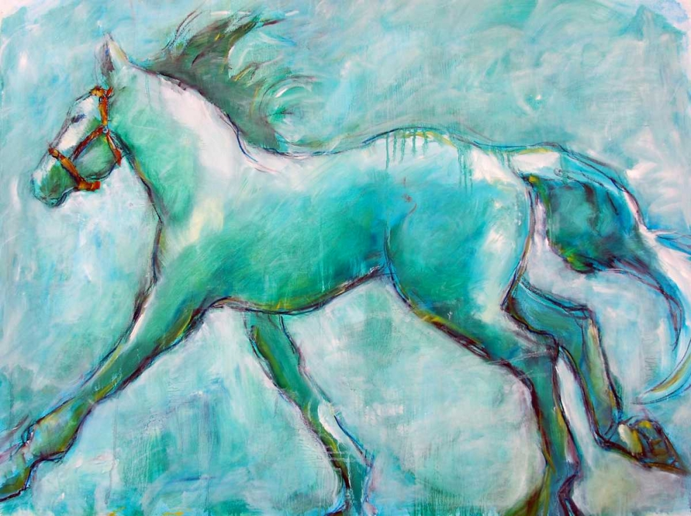 Running Horse Hoffman, Kate 17044