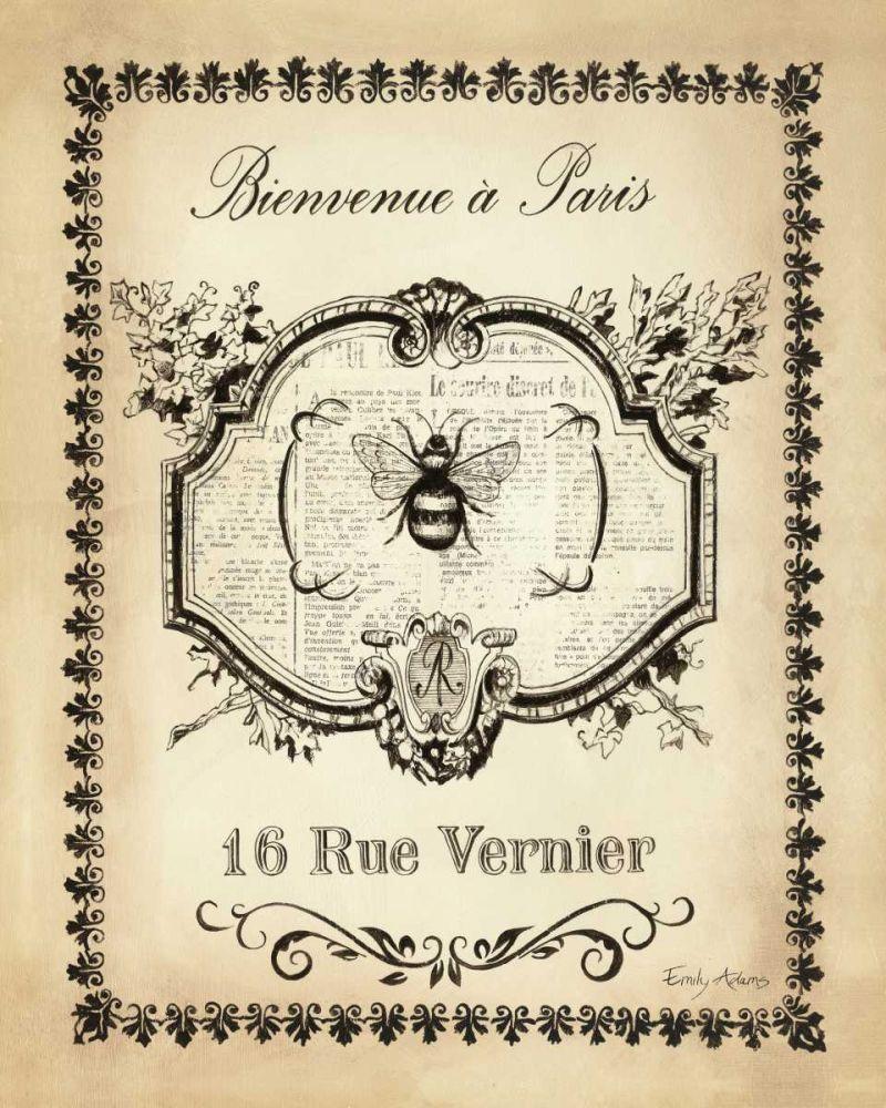 Paris Bees I Adams, Emily 33647