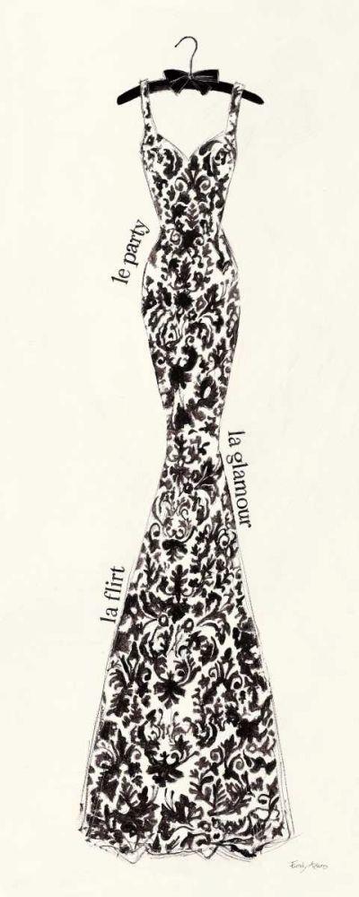 Couture Noir  Original II Adams, Emily 17079