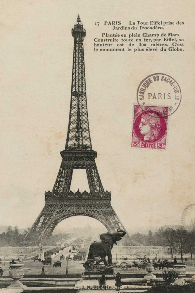 Paris 1900 Wild Apple Portfolio 33854