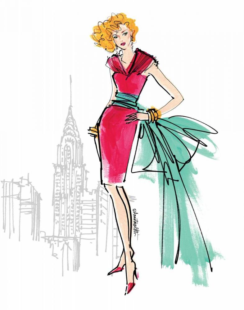 Colorful Fashion III - New York Tavoletti, Anne 17535