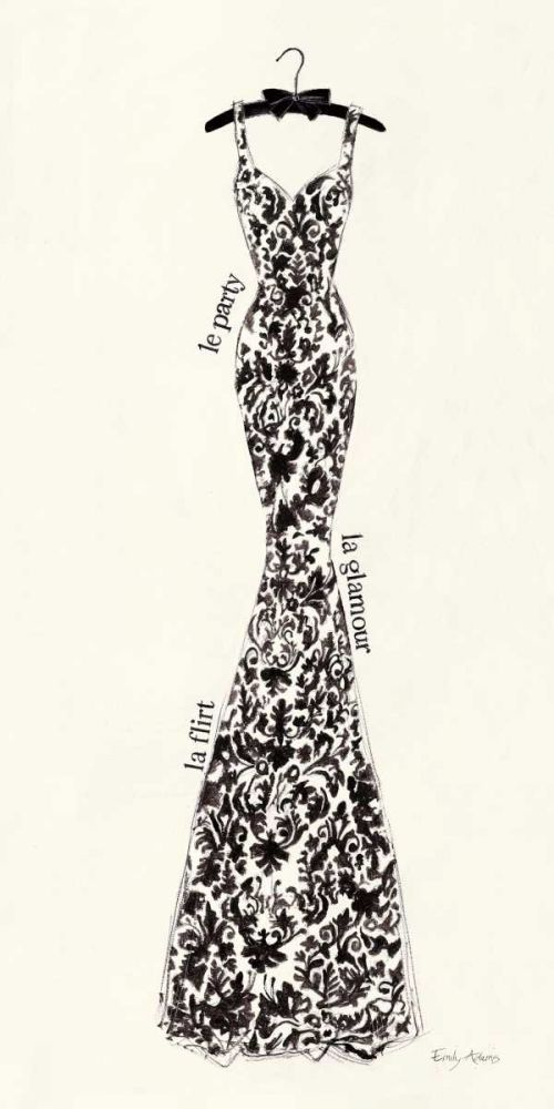 Couture Noir Original II Adams, Emily 33899