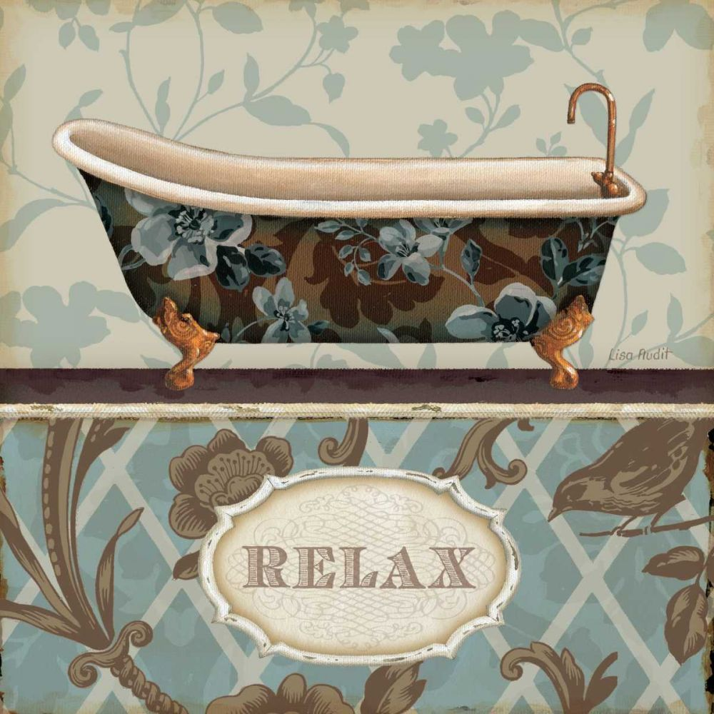 Bathroom Bliss I Audit, Lisa 33943